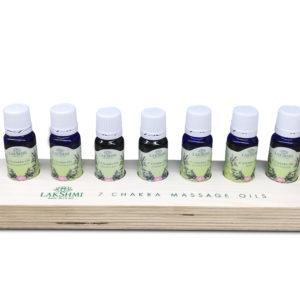 Kit 7 uleiuri pentru chakra, 7 x 10 ml