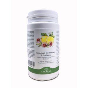 Extract de seminte de grapefruit si echinacea , Lakshmi, 90 capsule vegetale, 600mg