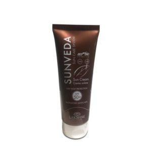 Crema de plaja cu protectie foarte ridicata SPF50+, Lakshmi, 100 ml, organica, linia Sunveda