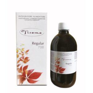Extract de plante reechilibrarea tractului intestinal Tisama Regular, 500 ml, cu frunza de senna