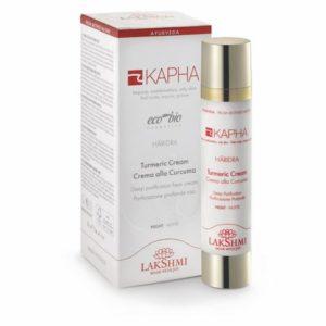 Crema cu turmeric intens purificatoare de noapte, pentru pielea grasa si cu impuritati KAPHA 50 ml