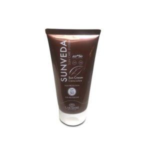 Crema cu protectie solara ridicata fata si corp, 50 spf, gama Sunveda